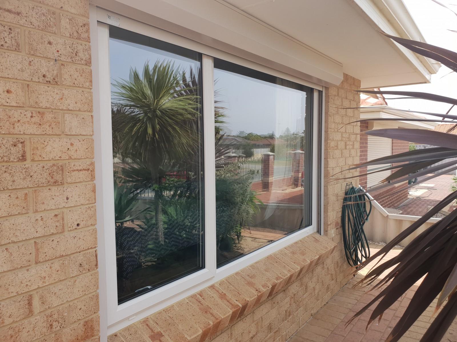 external window glazing