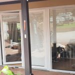 glass door installation