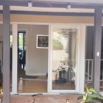installation of glass doors