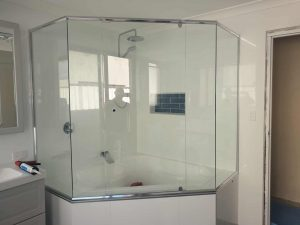 Full Chrome Frame Clear Shower Screen Enclosure 08