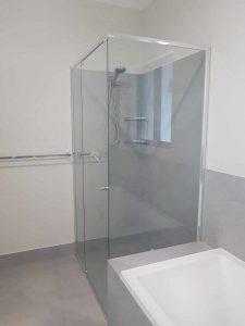 Semi Frameless Shower Screen Enclosure Clear 07