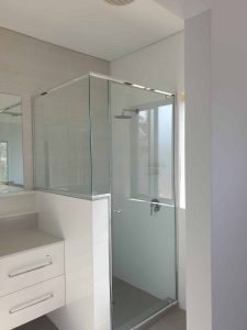 Semi Frameless Shower Screen Enclosure Clear 12