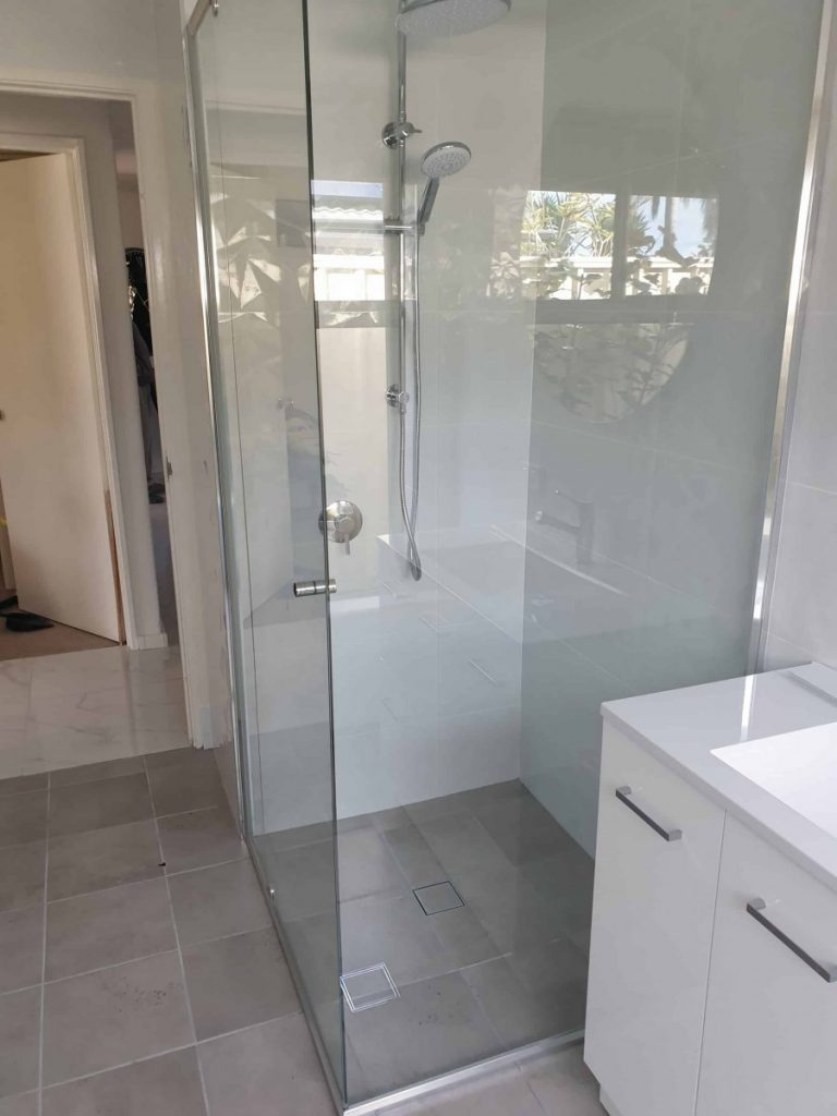 Semi Frameless Shower Screen Enclosure Clear 13